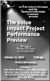 Voice Impact Project Drama Competition Photo Album