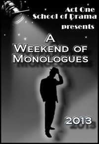 2013 Weekend Of monologues Photo Album