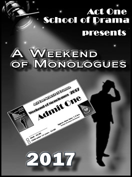 2017 Weekend of Monologues Photo Gallery